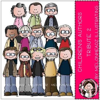 Melonheadz: Children's Authors Tribute clip art Part 2 - COMBO PACK