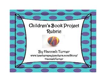 Children's Book Project Rubric