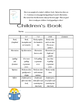 Children's Book Project (Writing Project)