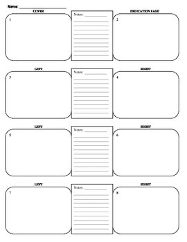 Children's Book Storyboard Template