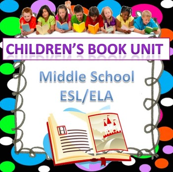Children's Book Unit (editable)