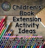 Children's Books Extension Activity Ideas (Volume I)