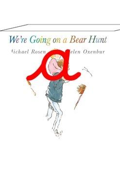 Children's Books on Bunting Cursive Alphabet