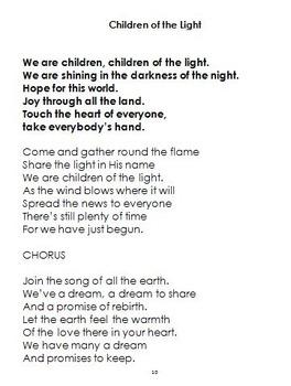 Children's Choir Hymn Songbook