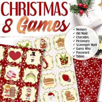 Children's Christmas Charades Game