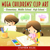 Children's Clip Art Mega Pack!