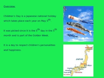 Childrens Day - Japan - Power Point - Facts History Pictures
