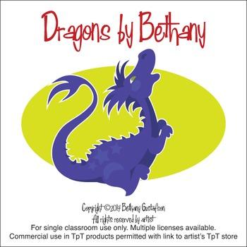 Children's Dragons Clipart