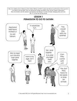 Children's ESL Curriculum Book 4-A The Trip to Saturn