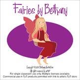 Children's Fairies Clipart