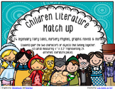 Children's Literature Match Up Card Game