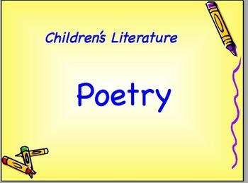 Children's Literature Poetry