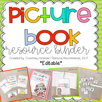 UPDATED Picture Book Resource Guide (editable)