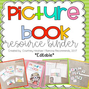 Children's Literature Resource Guide (GET ORGANIZED)