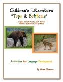 """Children's Literature """"Tops & Bottoms"""" Activities for Lang"""