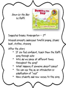 Children's Literature in the Elementary Music Classroom