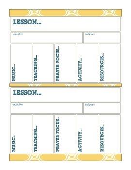 Children's Ministry: Worship Curriculum Planning