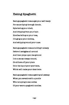 Children's Poetry (new) - Eating Spaghetti