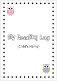Children's Reading Log