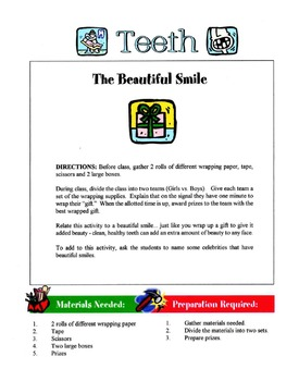 Children's Teeth & Teething Lesson