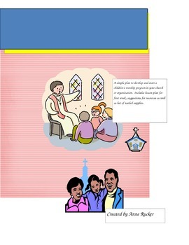 Children's Worship Lesson 4 Listening During Service