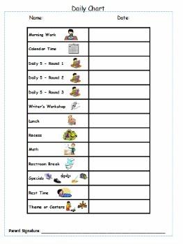 Child's Behavior Plan {editable}