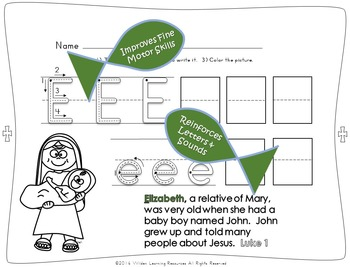 Child's Choice Writing Practice:  ABC BIBLE - Intermediate