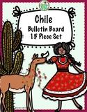 Chile 15 Piece Bulletin Board Set