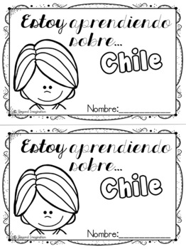 Chile Booklet Country Study Project Unit Español (Spanish) Edition