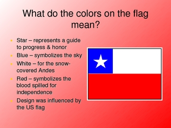 Chile Culture Power Point