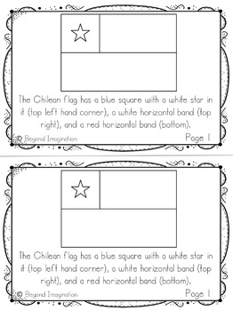 Chile Country Study   48 Pages for Differentiated Learning + Bonus Pages