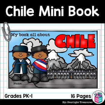 Chile Mini Book for Early Readers - A Country Study