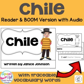 Chile Reader {English Version} & Vocab work ~ Simplified for Young Learners