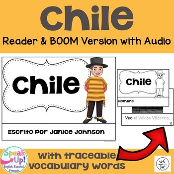 Chile Reader {en español} & Vocab pages ~ Simplified for Language Learners