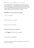 Chilean Cleaning Service Webquest