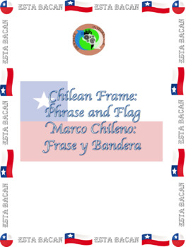 Chilean Frame: Flag and Phrase