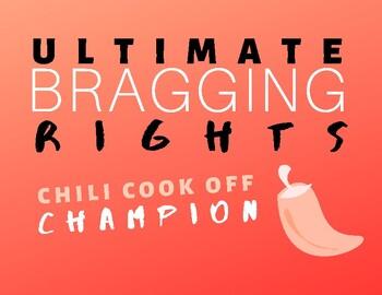 Chili Cook Off Award