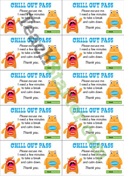 Chill Out Passes
