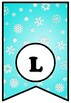 Chill Out With A Good Book, Winter Snow, Bulletin Board Sayings Pennant Banner