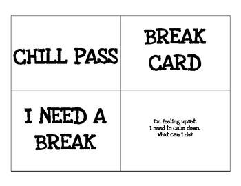 Chill Pass Break Card Visuals