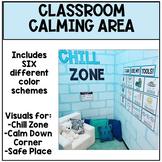 Chill Zone Bulletin Board / Calming Area