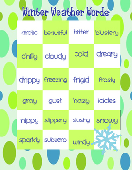 Winter Writing Prompts and More Common Core
