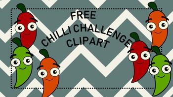 Chilli Challenge Clipart
