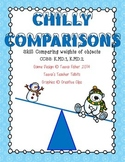 Chilly Comparisons Kindergarten Measurement Weight Heavier Lighter Than