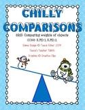 Chilly Comparisons Kindergarten Measurement Weight Heavier