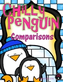 Chilly Penguin Comparisons Kindergarten Greater Than Less Than Comparing Numbers