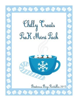 Chilly Treats PreK Printable Learning Pack