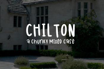 Chilton - A Free Font