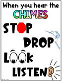 Chime Behavior Management Poster