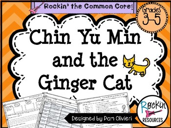 Chin Yu Min and the Ginger Cat Questions, Activities, Test